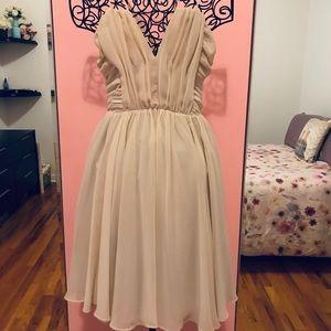 H&M elegant chiffon strappy dress